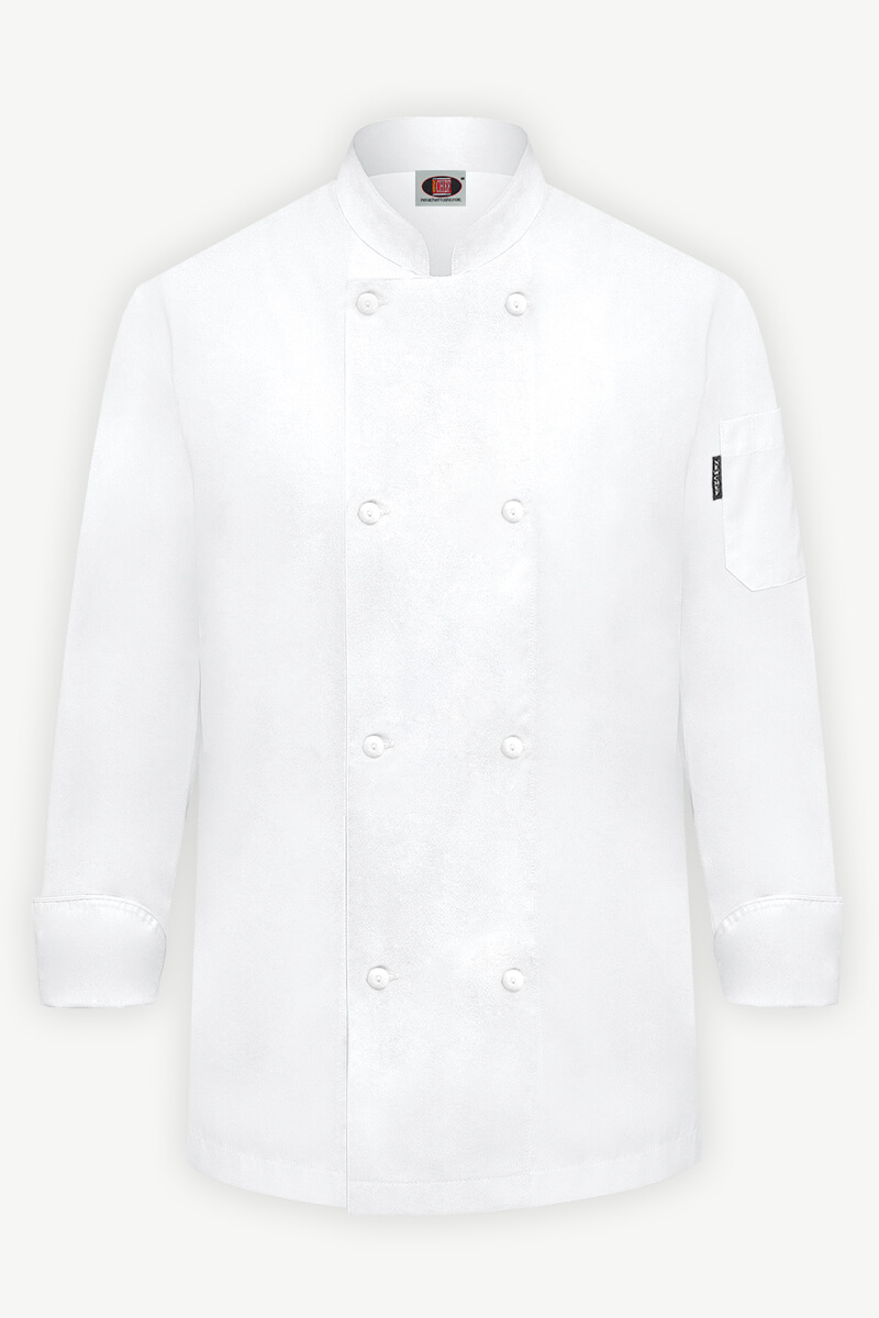 Classic Chef Coat - White
