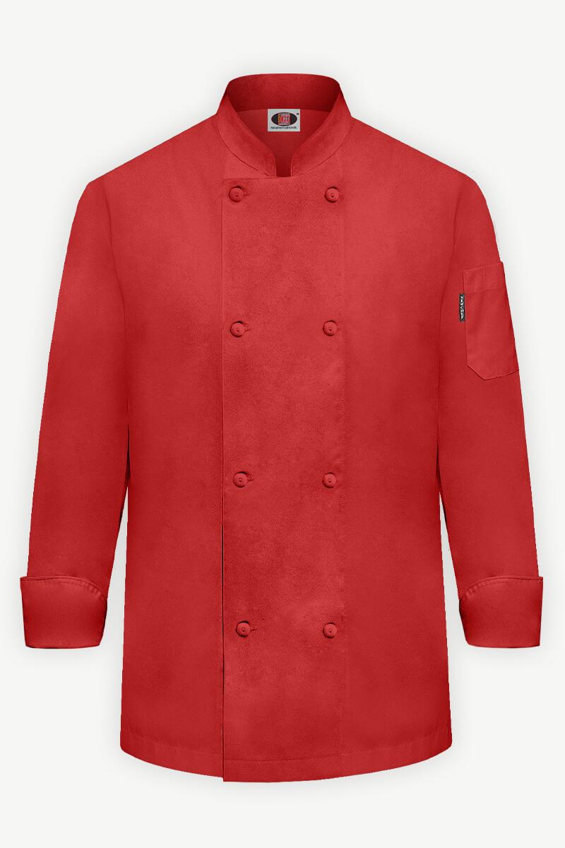Classic Chef Coat - Red