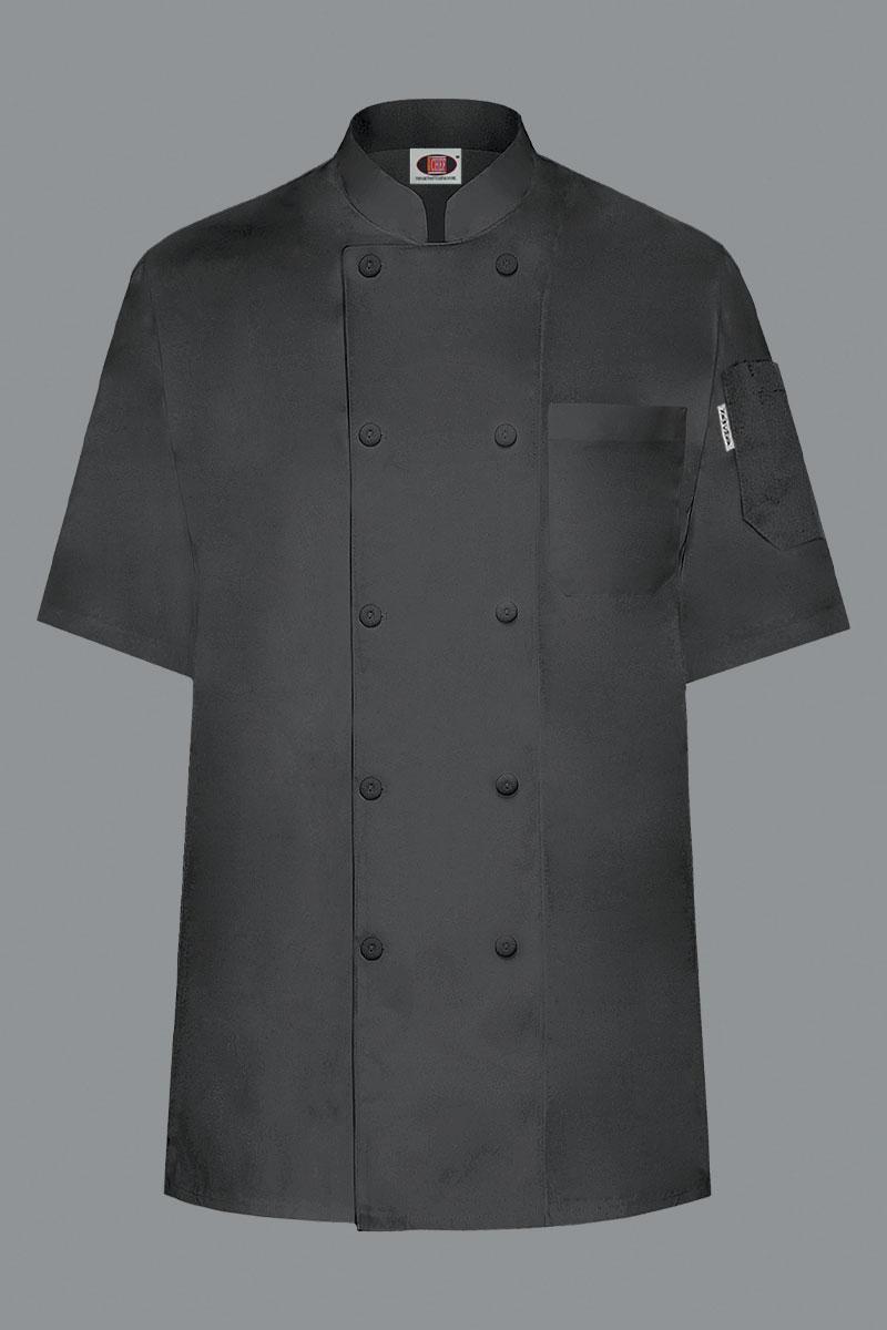 Austin Chef Coat - Black