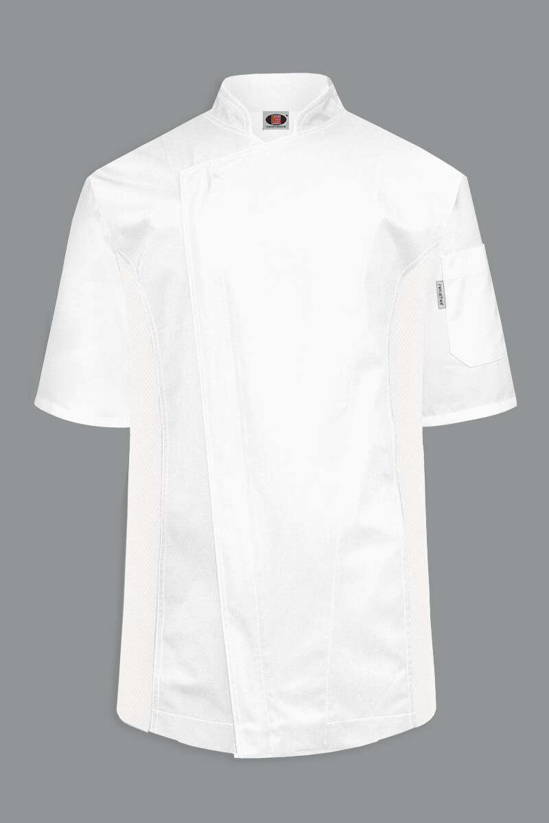 Colton Men's Short Sleeve Chef Coat