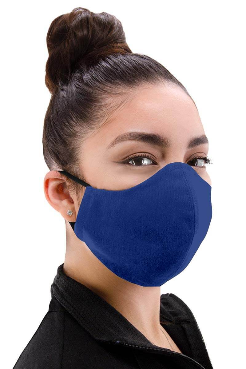 100% Cotton Facemask - Royal Blue