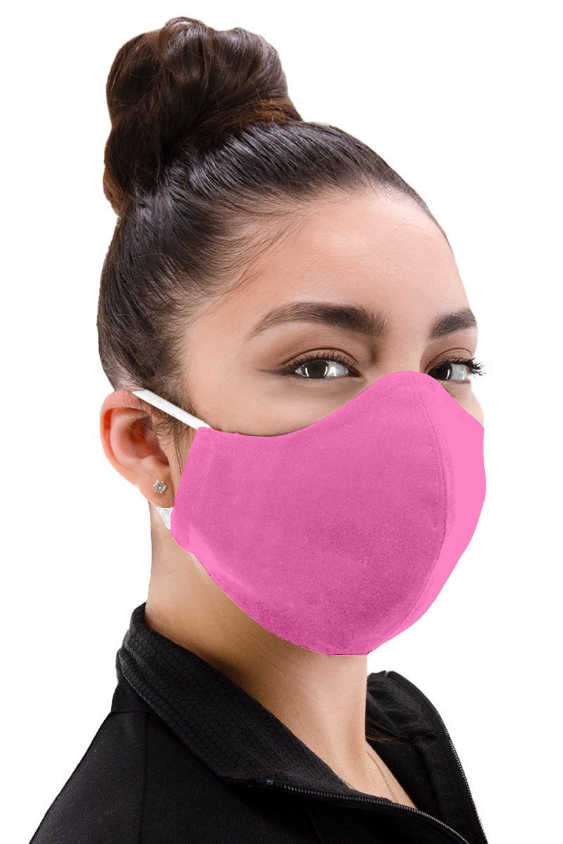 Small Unisex Facemask - Fuchsia