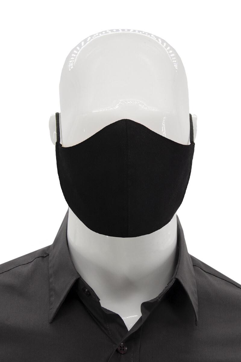 Adjustable Unisex Face mask - Black