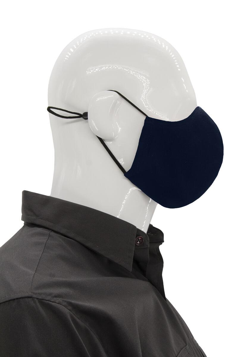 Adjustable Unisex Face mask - Navy