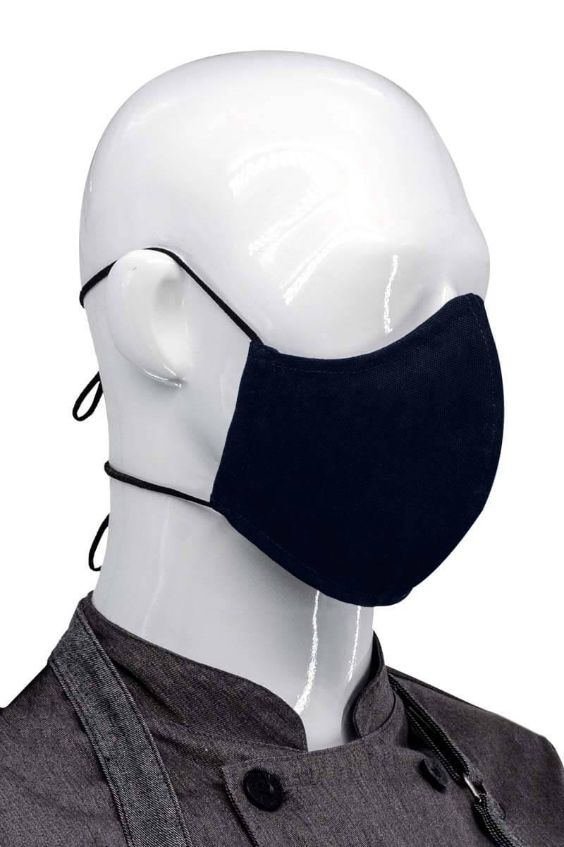 Dual Adjustable Unisex Face Mask - Navy