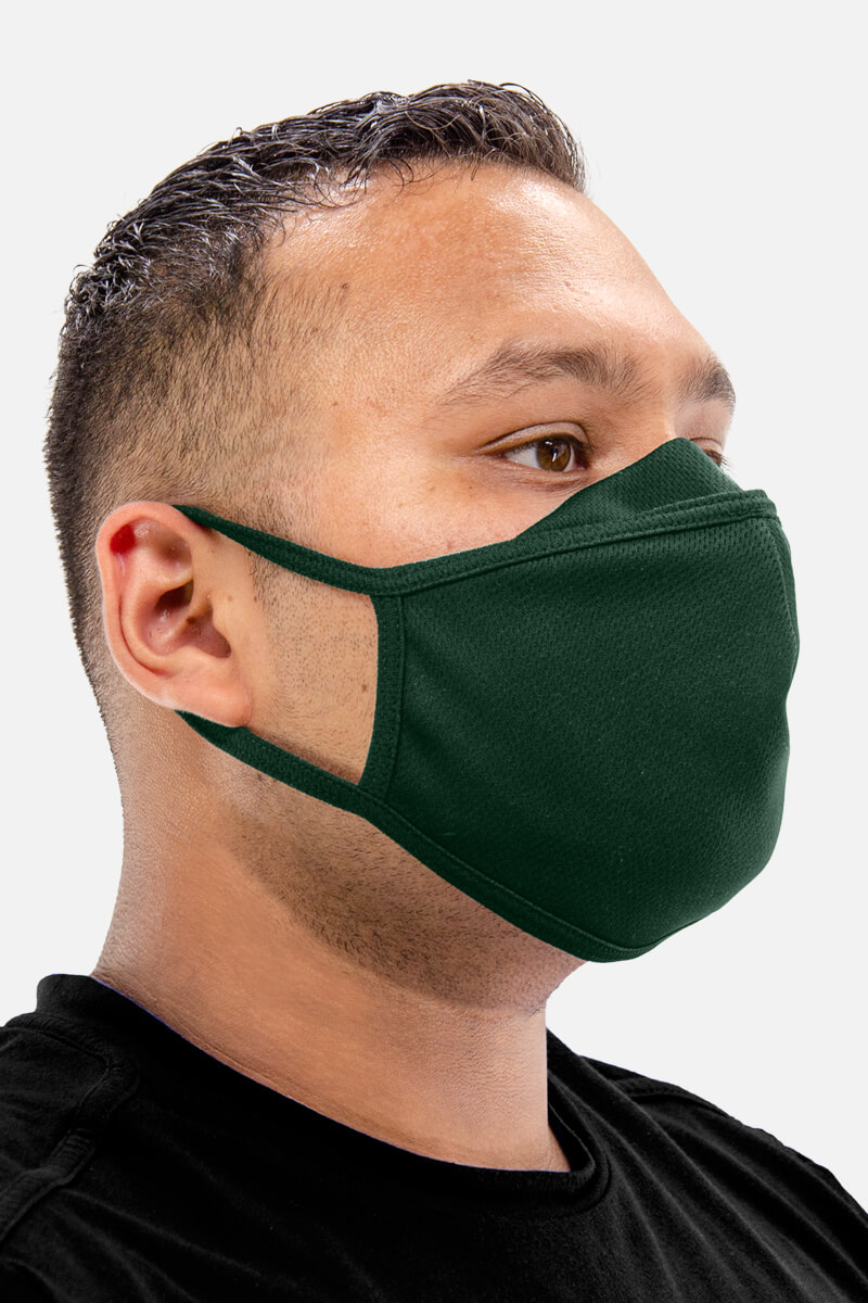 100% Poly Mesh Face Mask