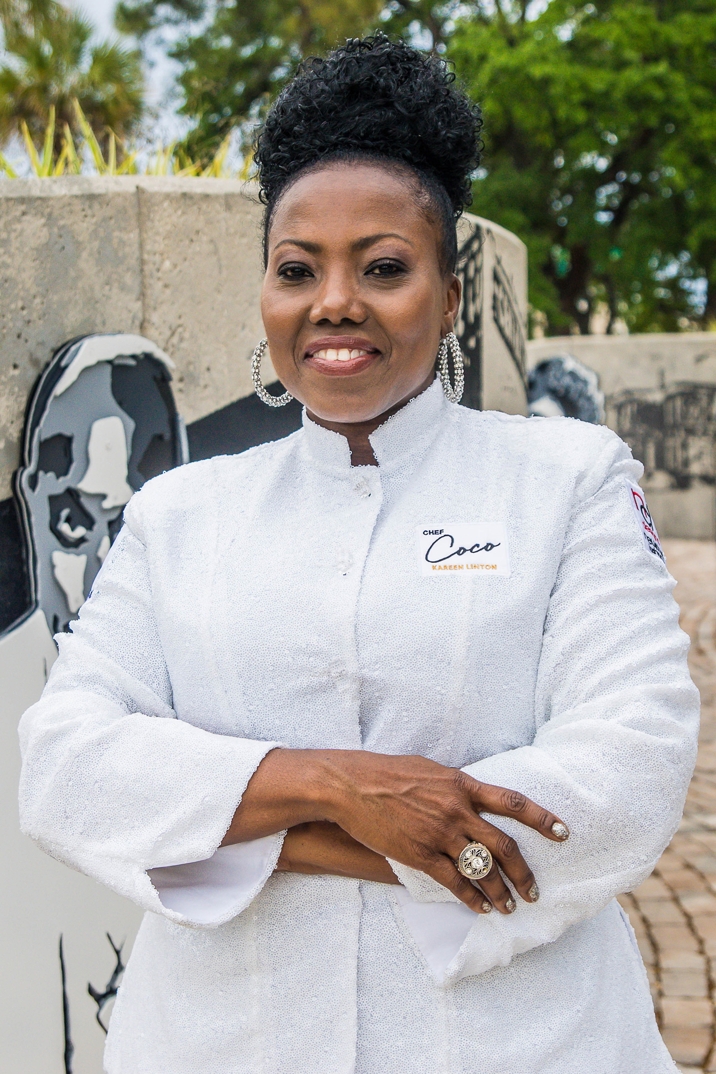 "Chef Kareen ""Coco"" Linton is now a member of the NEWCHEF Elite!"